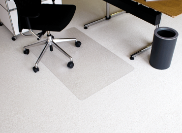 Darstellung des Produktes Ecoblue® für kurzflorige Teppiche und harte Böden