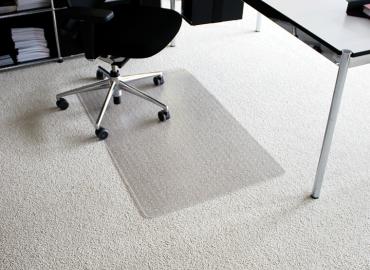 Darstellung des Produktes Rollt&Schützt® für mittelflorige Teppiche und harte Böden