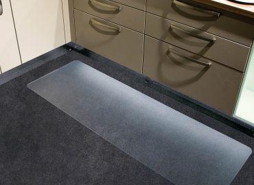 Darstellung des Produktes Küchenmatte Ecoblue für Teppichböden