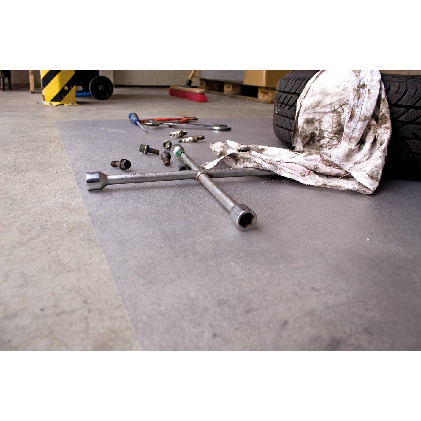 Garagenmatte Ecogrip® Für Harte Böden