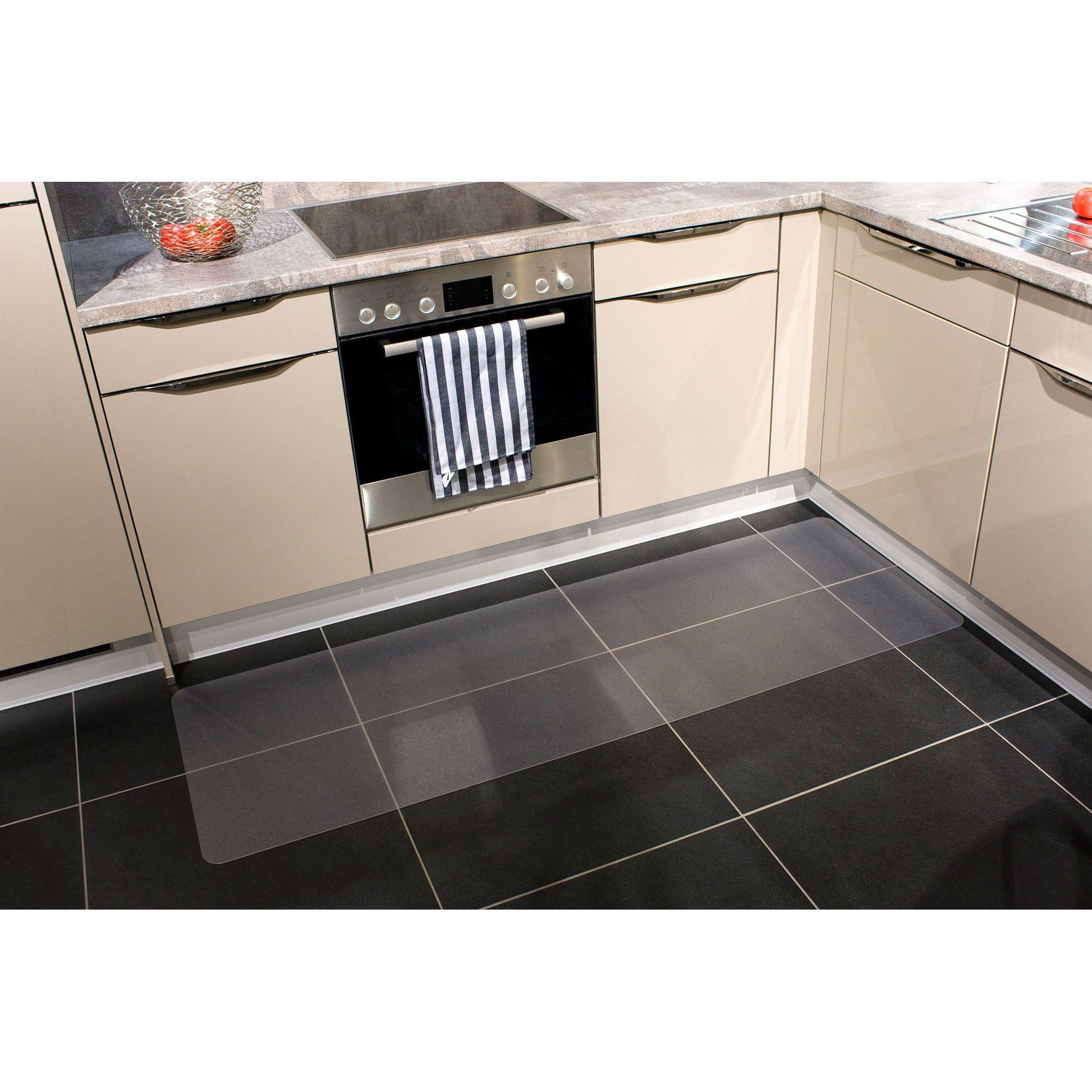 Küchenboden Matten: Harter Bodenbelag